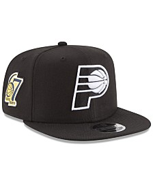 New Era Indiana Pacers Anniversary Patch 9FIFTY Snapback Cap