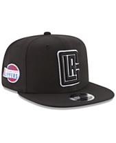 premium selection 767fa fbef7 New Era Los Angeles Clippers Anniversary Patch 9FIFTY Snapback Cap