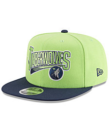 New Era Minnesota Timberwolves Retro Tail 9FIFTY Snapback Cap