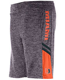 Colosseum Miami Hurricanes Summer Shorts, Big Boys (8-20)