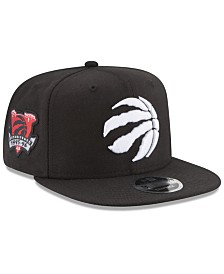 New Era Toronto Raptors Anniversary Patch 9FIFTY Snapback Cap
