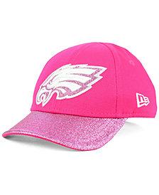 New Era Girls' Philadelphia Eagles Shimmer Shine Adjustable Cap