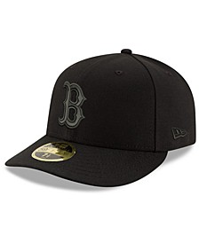 Boston Red Sox Triple Black Low Profile 59FIFTY Fitted Cap