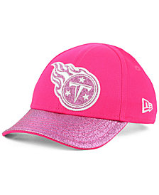 New Era Girls' Tennessee Titans Shimmer Shine Adjustable Cap