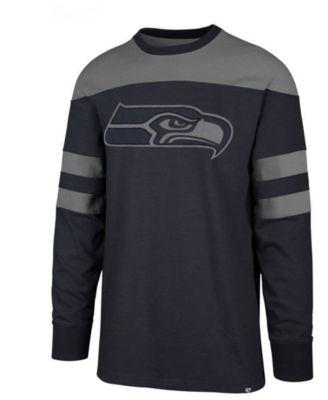 65a6df43 Men's Seattle Seahawks Gunner Crew Long Sleeve T-Shirt