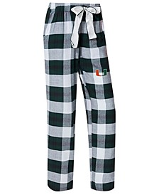 Women's Miami Hurricanes Homestretch Flannel Pajama Pants