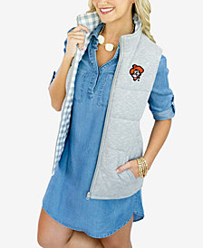 Gameday Couture Women's Oklahoma State Cowboys Reversible Vest