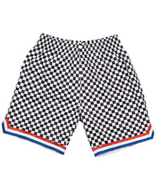 Mitchell & Ness Men's Cleveland Cavaliers Checkerboard Swingman Shorts