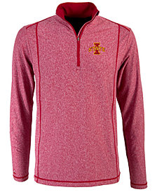Antigua Men's Iowa State Cyclones Tempo Quarter-Zip Pullover