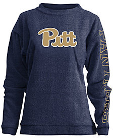 Pressbox Women's Pittsburgh Panthers Comfy Terry Sweatshirt