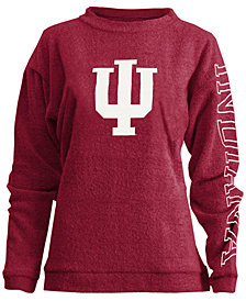 Pressbox Women's Indiana Hoosiers Comfy Terry Sweatshirt