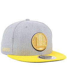 New Era Golden State Warriors Heather Metallic 9FIFTY Snapback Cap