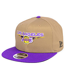 New Era Los Angeles Lakers Jack Knife 9FIFTY Snapback Cap