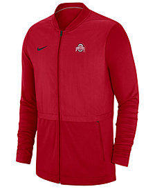 Nike Men's Ohio State Buckeyes Elite Hybrid Full-Zip Jacket