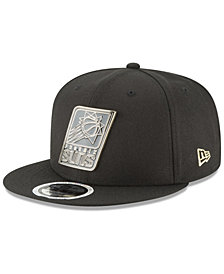 New Era Phoenix Suns Black Enamel 9FIFTY Snapback Cap