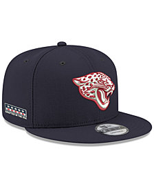 New Era Jacksonville Jaguars Crafted in the USA 9FIFTY Snapback Cap