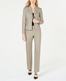 Le Suit Two-Button Pantsuit