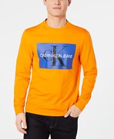 Calvin Klein Jeans Men's Monogram Logo Graphic T-Shirt