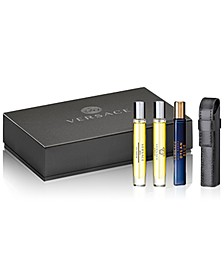 Receive a Complimentary 4-Pc. Travel Spray Gift Set with any large spray purchase from the fragrance collection
