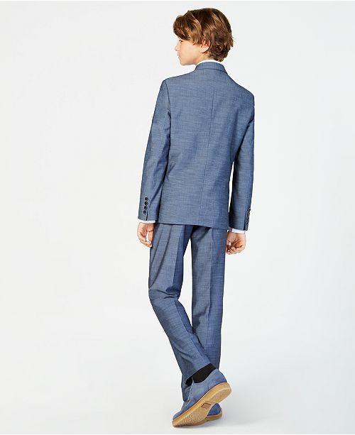 d9c296de Big Boys Plain-Weave Suit Jacket