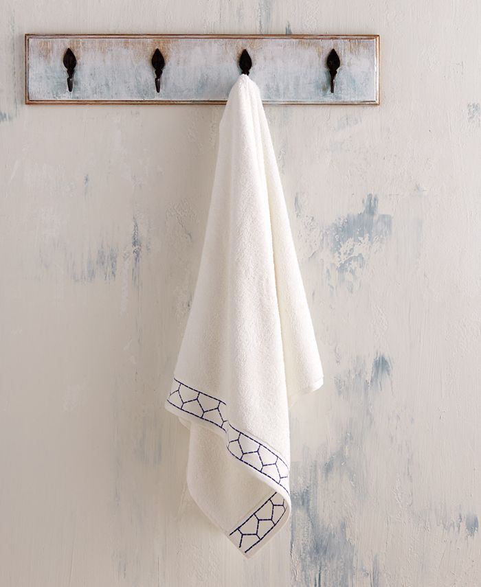 John Robshaw - Linah Bath Towel Periwinkle