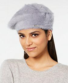Calvin Klein Solid Wool Beret