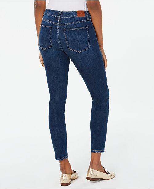 8e54ce38a Tommy Hilfiger Rhinestone Embellished Tribeca Skinny Jeans & Reviews ...