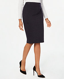 Tommy Hilfiger Printed Pencil Skirt, Created for Macy's