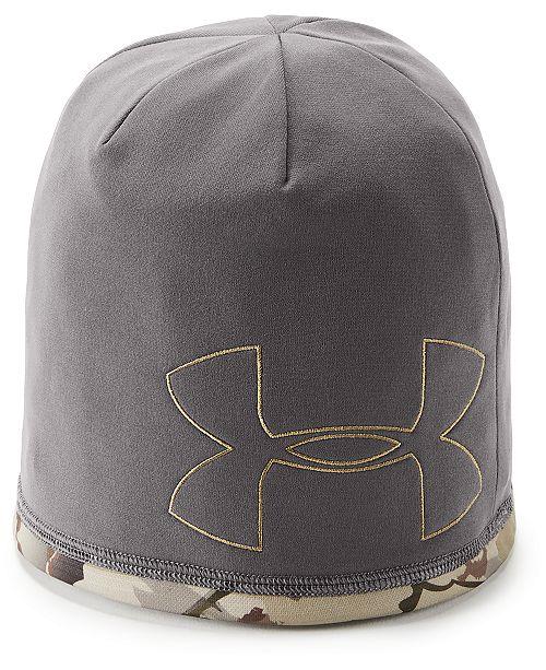0d132842d1c Under Armour Men s Rev Reversible Beanie - Hats