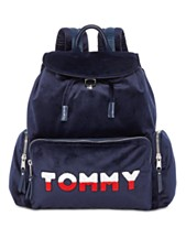 Tommy Hilfiger Tommy Velvet Flap Backpack 1c1f27cb54708
