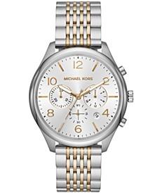 Men's Merrick Two-Tone Stainless Steel Bracelet Watch 42mm