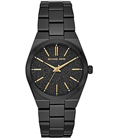 Women's Channing Black Stainless Steel Bracelet Watch 36mm