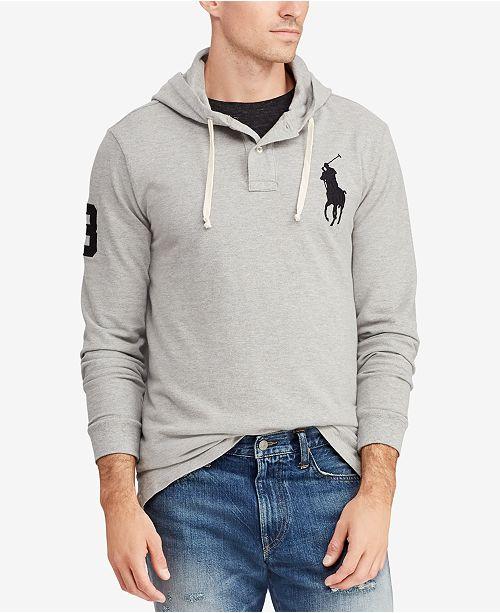 Polo Ralph Lauren Men's Mesh Hoodie, Created for Macy's
