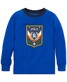 Polo Ralph Lauren Toddler Boys Downhill Skier Graphic Long-Sleeve Cotton T-Shirt