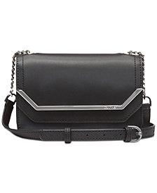 Calvin Klein Tessie Leather Crossbody