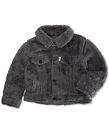 Levi's® Baby Boys and Girls Faux-Sherpa Trucker Jacket