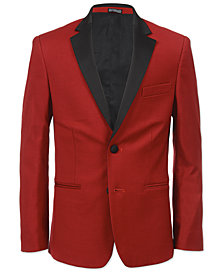 Calvin Klein Big Boys Red Party Jacket
