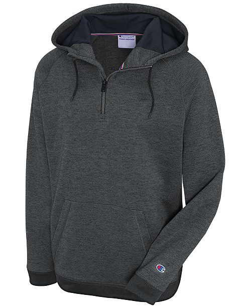the best beautiful style where can i buy Champion Men's Quarter-Zip Hoodie & Reviews - Hoodies ...