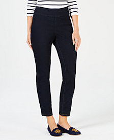 Charter Club Cambridge Pull-On Ankle Jeans, Created for Macy's