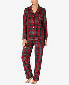 Lauren Ralph Lauren Petite Printed Pajama Set