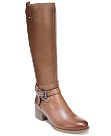 Kim Wide Calf Riding Boots
