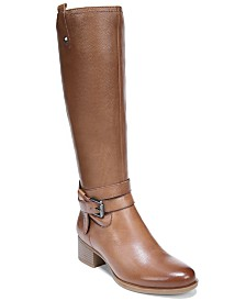 Naturalizer Kim Wide Calf Riding Boots