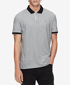 Calvin Klein Men's Tipped Edge Polo
