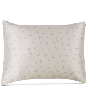 Image of Silken Slumber Solid and Printed Silk Standard Pillowcase Bedding