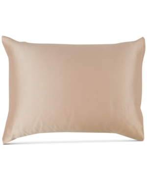 Image of Silken Slumber Solid Silk King Pillowcase Bedding