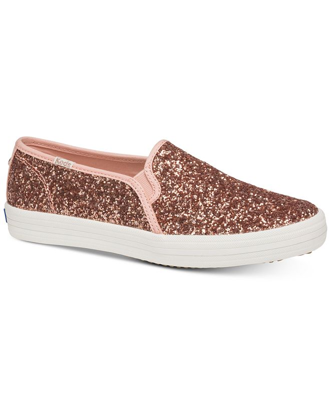 kate spade new york Double Decker Glitter Sneakers