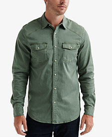 Lucky Brand Men's Regular-Fit Western Workwear Shirt