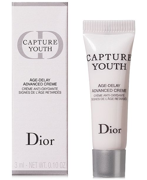 48e1fb6dd6c Dior Receive a Complimentary Capture Youth Age Delay Advanced Cream with  any  150 Dior Beauty purchase