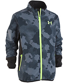Under Armour Big Boys Printed Northern Zip-Up Softshell Jacket