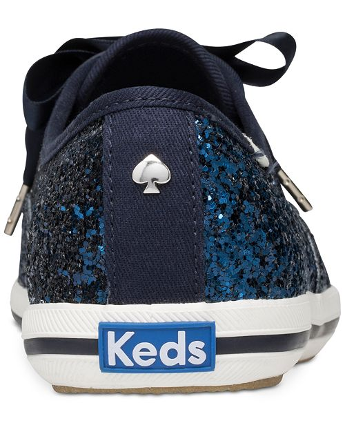 70c918b82d3980 kate spade new york Glitter Lace-Up Sneakers   Reviews - Sneakers ...